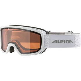 Alpina Scarabeo S QH Gafas, white/orange